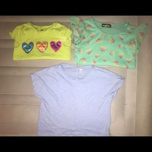Girls short sleeve shirt bundle